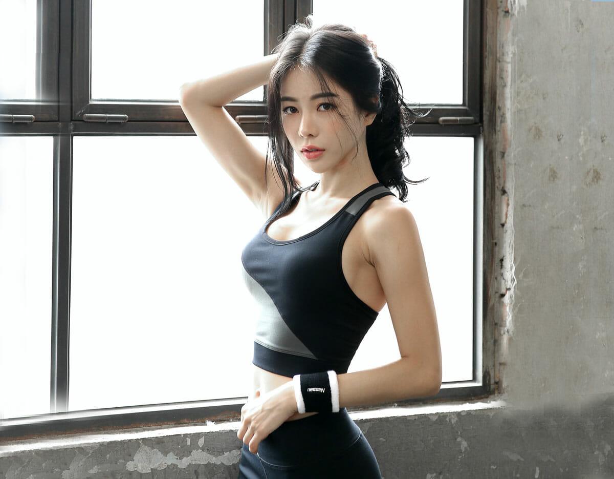sporty Japanese Girl